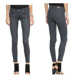 Paige Jane Zip Evie No Whiskers Skinny Jeans